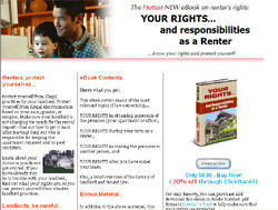 Your Rights and responsibilities as a Renter