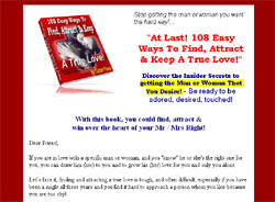 108 Easy Ways To Find, Attract & Keep A True Love!