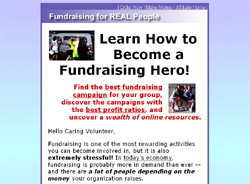 Fundraising for REAL People