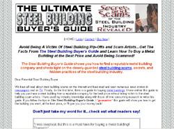 Steel Building Buyer's Guide