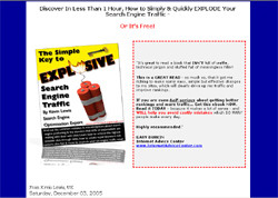 The Simple Key To Explosive Search Engine Traffic!
