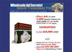 Wholesale Ad Secrets! Instant Tremendous Profits!