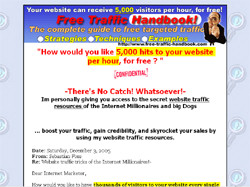 Free Traffic Handbook-How Your Website can receive 5,000 hits per hour