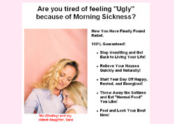 Ease Your Morning Sickness - NOW!
