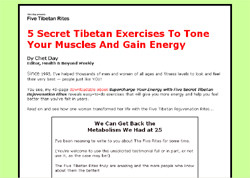 Supercharge Energy with Secret Tibetan Rejuvenation Rites