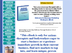 Massage Marketing Strategies