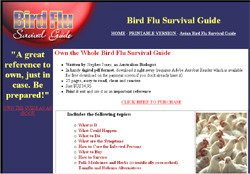 Avian Bird Flu Survival Guide