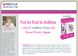 Cost-Free Miracle Asthma Cure