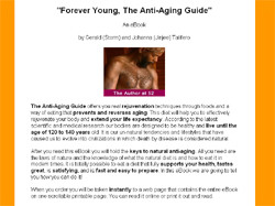 Forever Young, The Anti-Aging Guide