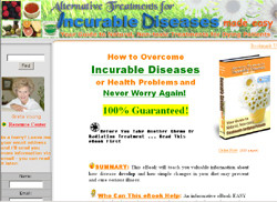 Alternative Treatments for Incurable Diseases made easy